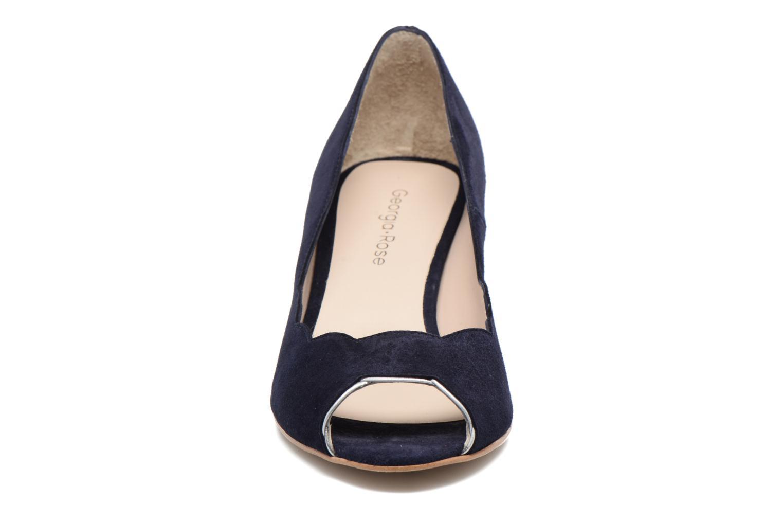 Escarpins Georgia Rose Expetio Bleu vue portées chaussures