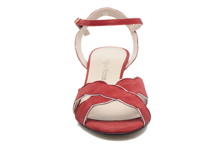 Sandales et nu-pieds Georgia Rose Expato Rouge vue portées chaussures