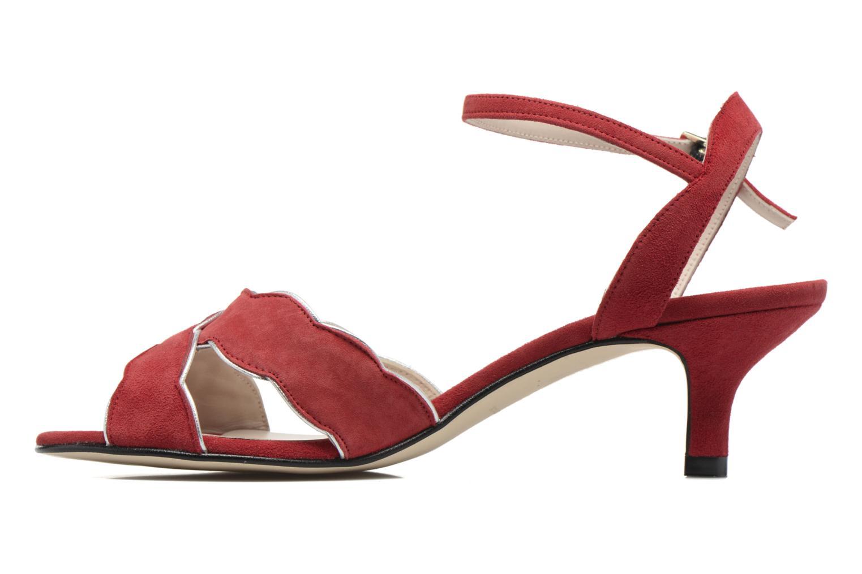 Sandales et nu-pieds Georgia Rose Expato Rouge vue face