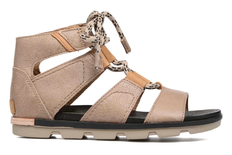 Sandales et nu-pieds Sorel Torpeda lace II Beige vue derrière