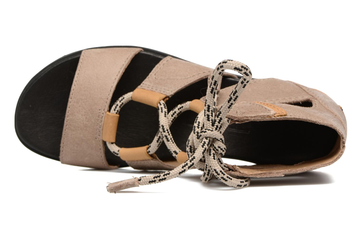 Sandalen Sorel Torpeda lace II Beige links