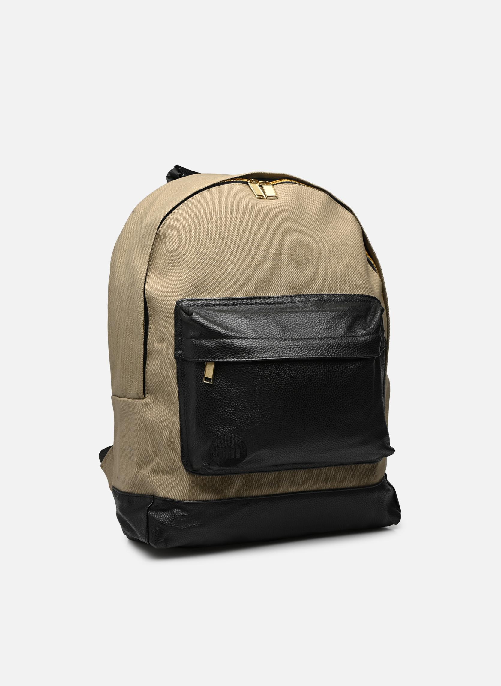 Sacs à dos Mi-Pac Gold Backpack Beige vue haut