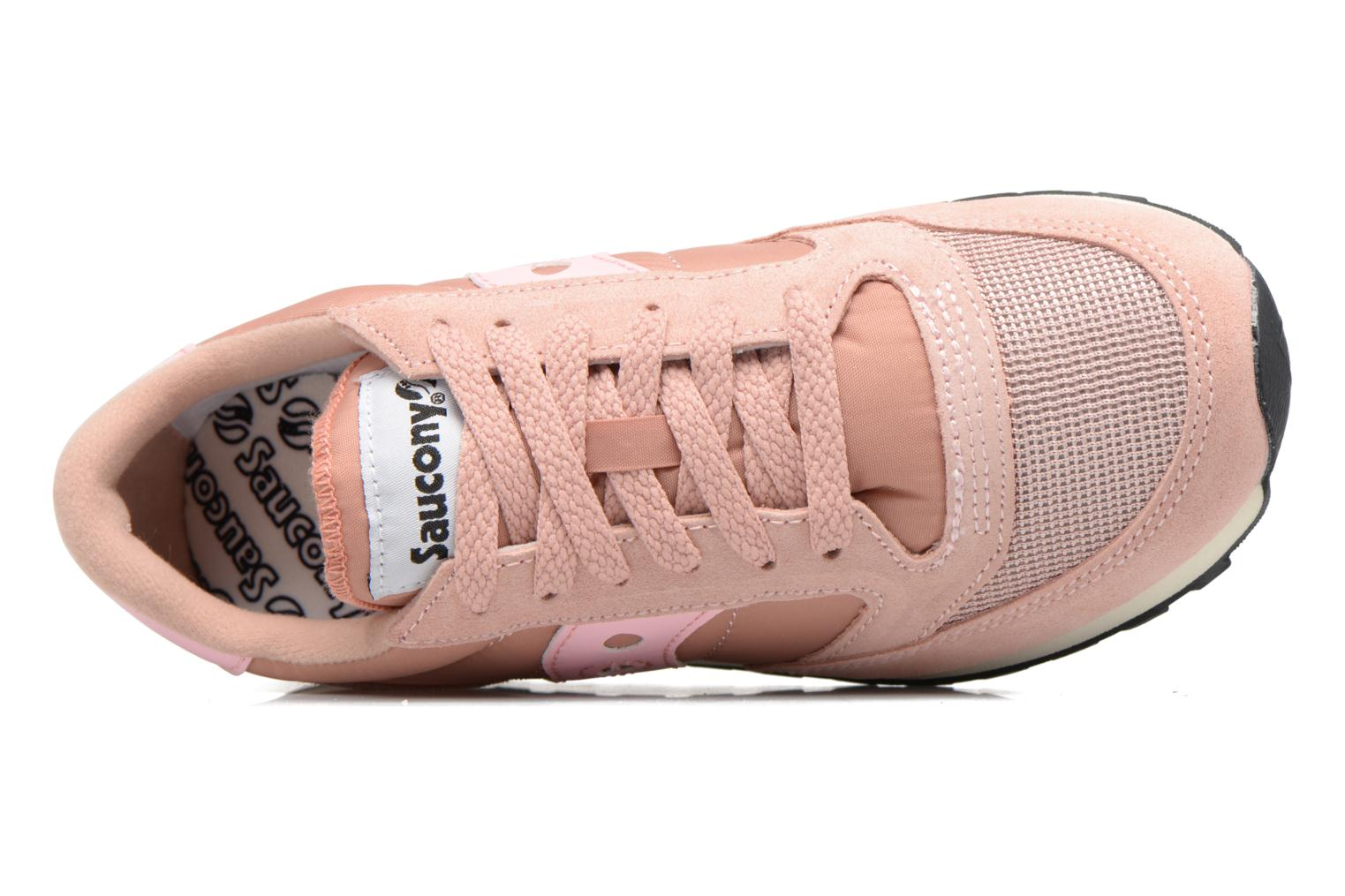 Baskets Saucony Jazz Original Vintage W Rose vue gauche
