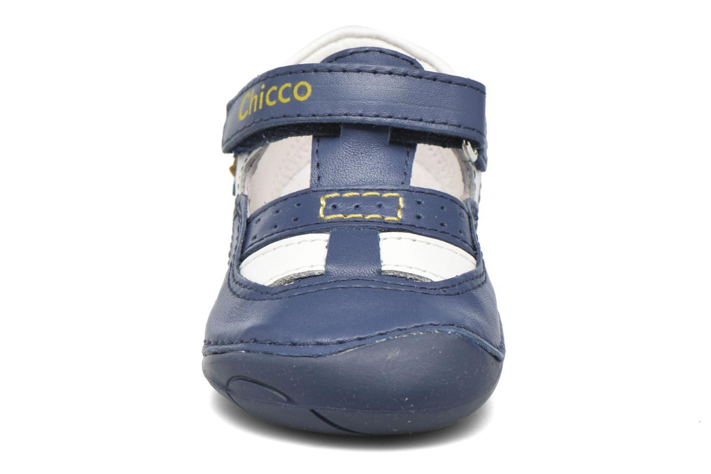 Bottines d'été Chicco Danton Bleu vue portées chaussures