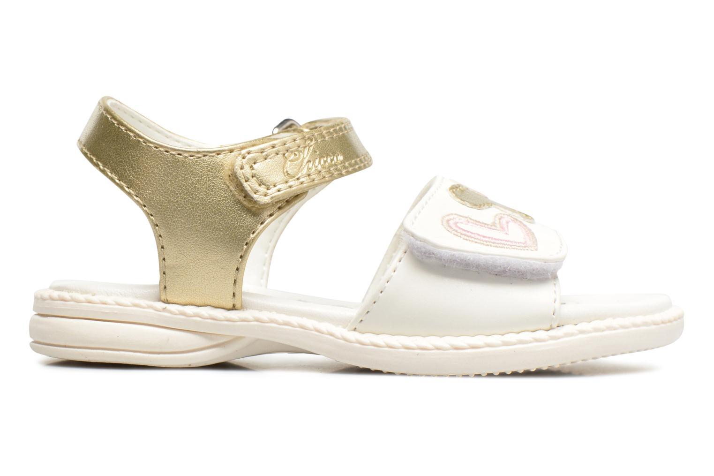 Sandales et nu-pieds Chicco Clarinda Blanc vue derrière