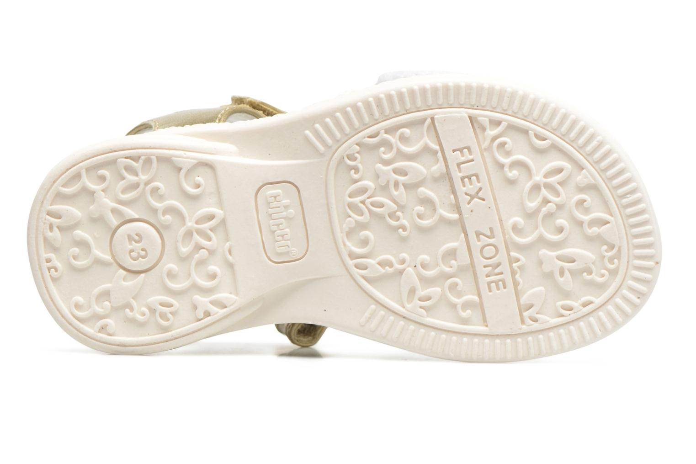 Sandales et nu-pieds Chicco Clarinda Blanc vue haut