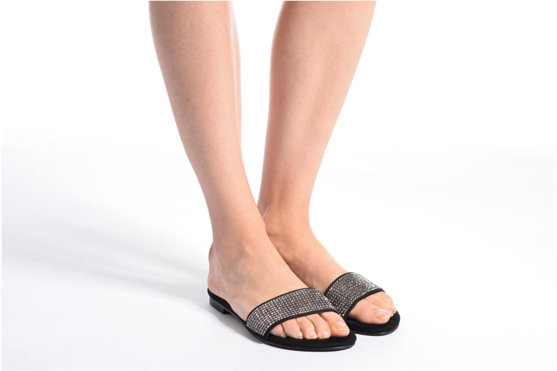 Los últimos zapatos de hombre y mujer Guess FERGA (Negro) - Zuecos en Más cómodo