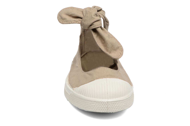 Ballet pumps Bensimon Tennis Flo Beige model view