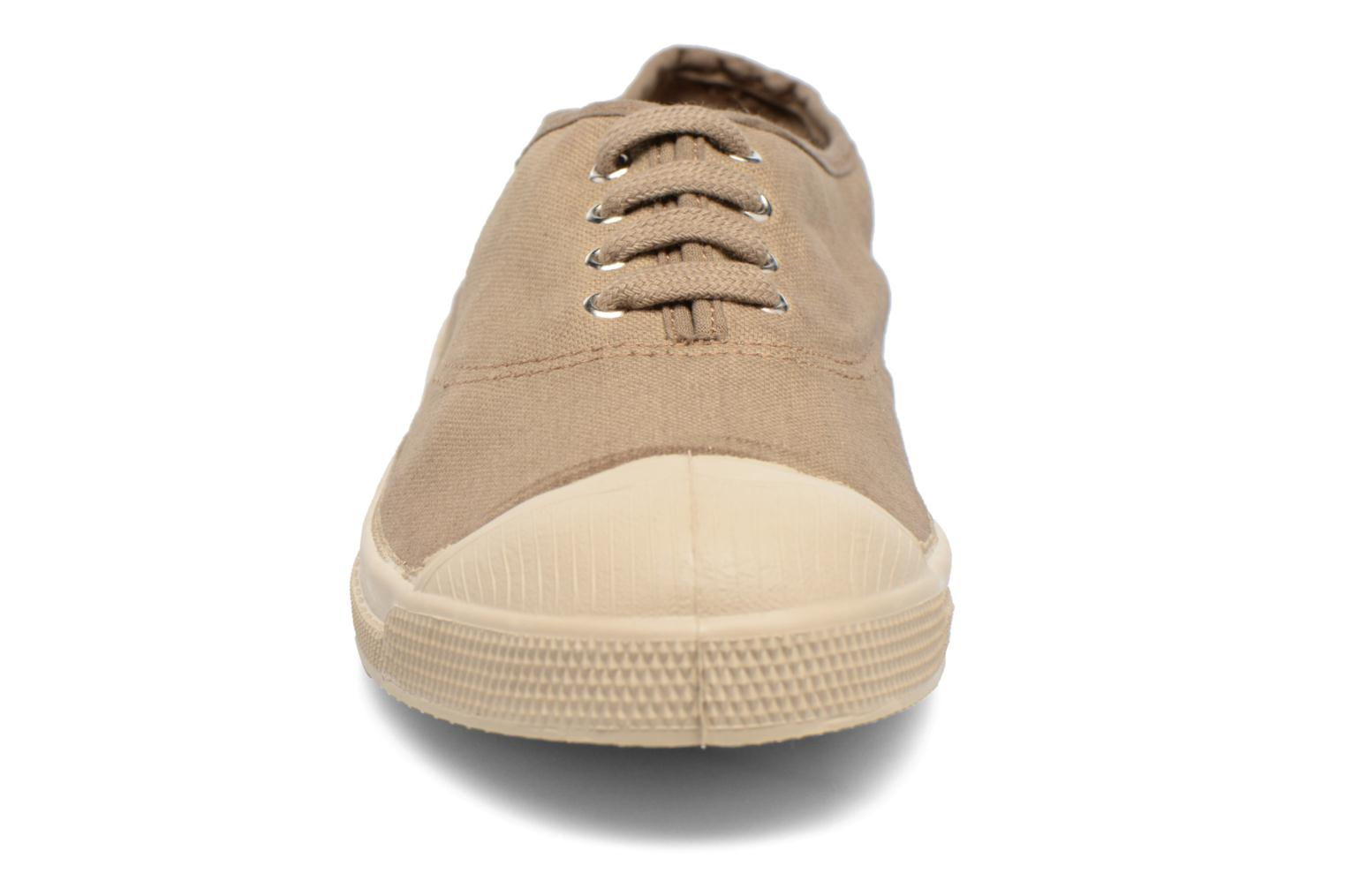 Trainers Bensimon Tennis Militaire Brown model view