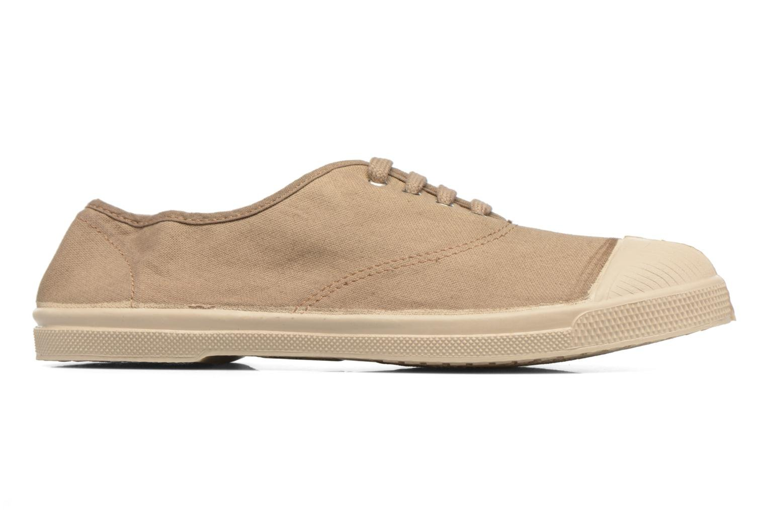 Trainers Bensimon Tennis Militaire Brown back view