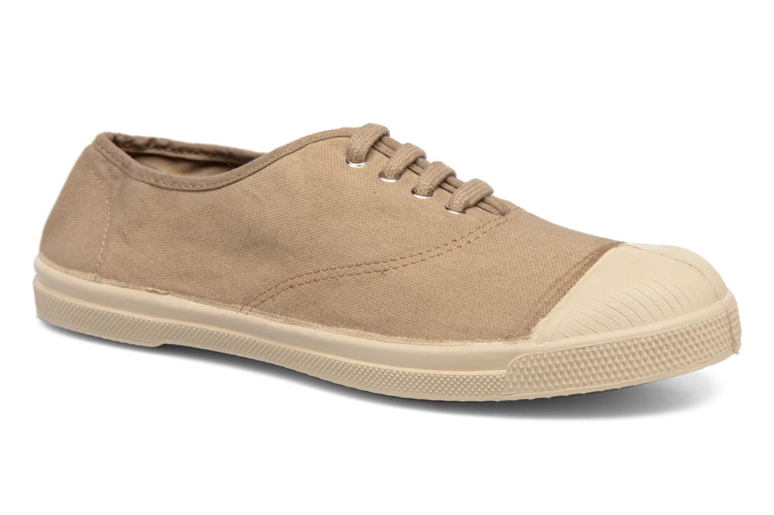 Baskets Bensimon Tennis Militaire Marron vue détail/paire