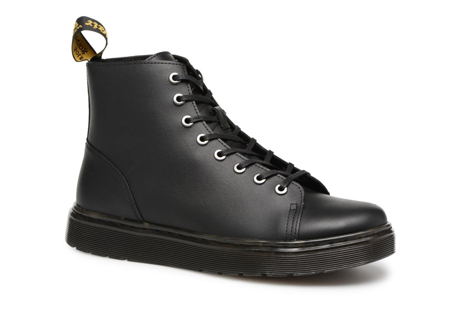 Marques Chaussure homme Dr. Martens homme Talib Black Smooth Straw Grain
