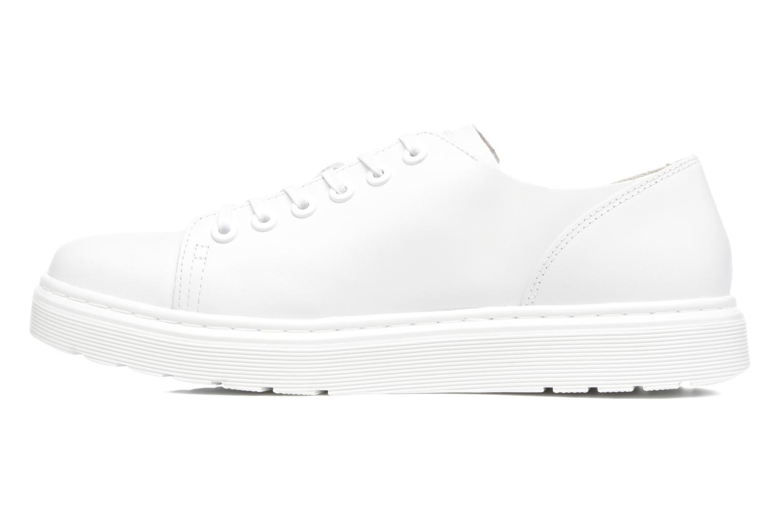 Chaussures à lacets Dr. Martens Dante Blanc vue face