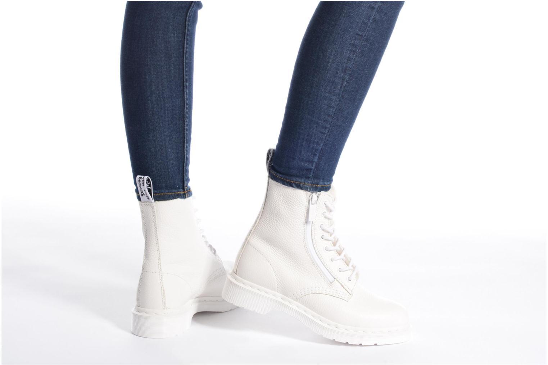 Boots en enkellaarsjes DR. Martens Pascal w/Zip Wit onder