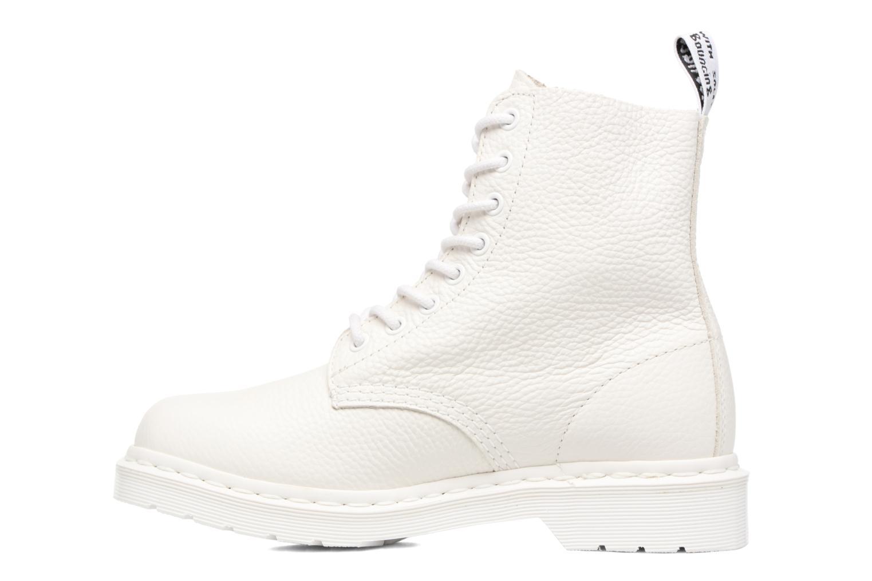 Boots en enkellaarsjes DR. Martens Pascal w/Zip Wit voorkant