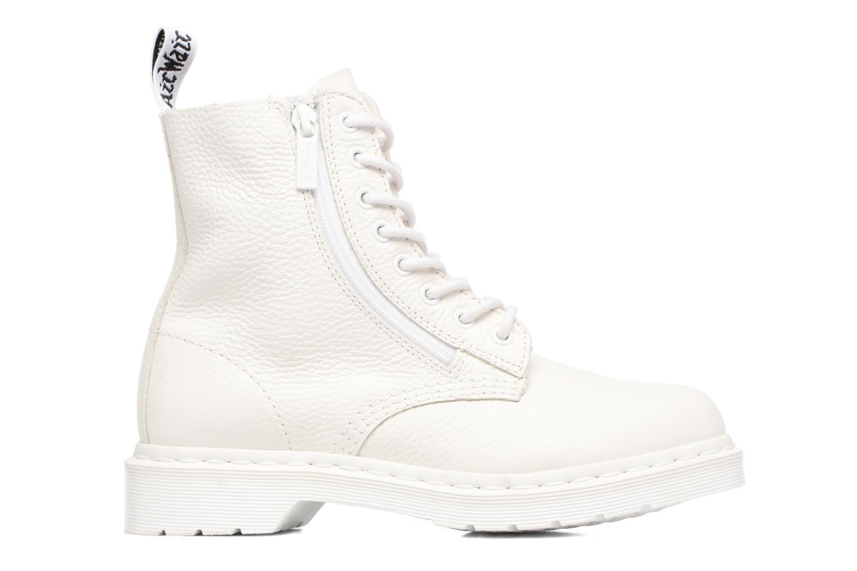 Boots en enkellaarsjes DR. Martens Pascal w/Zip Wit achterkant