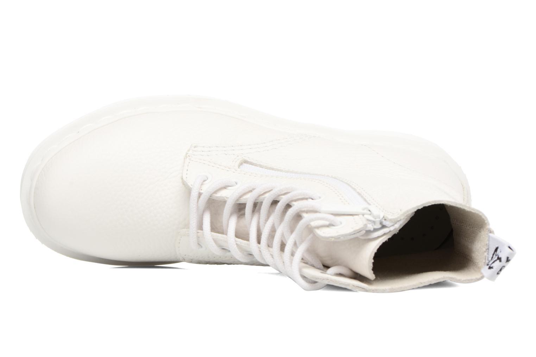 Boots en enkellaarsjes DR. Martens Pascal w/Zip Wit links
