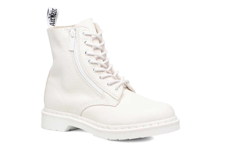 Boots en enkellaarsjes DR. Martens Pascal w/Zip Wit detail