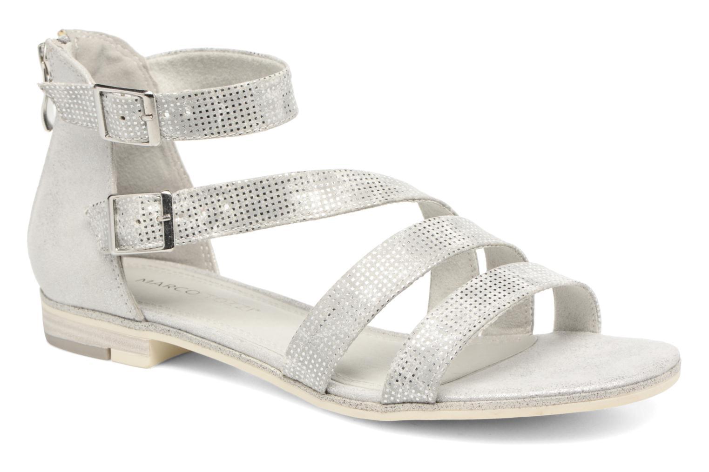 Sandales et nu-pieds Marco Tozzi Meko Argent vue détail/paire
