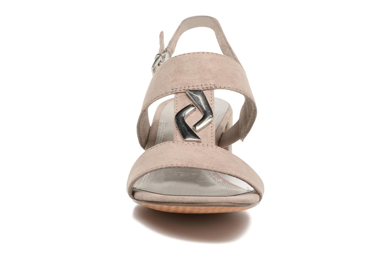 Sandales et nu-pieds Marco Tozzi Nyla Marron vue portées chaussures