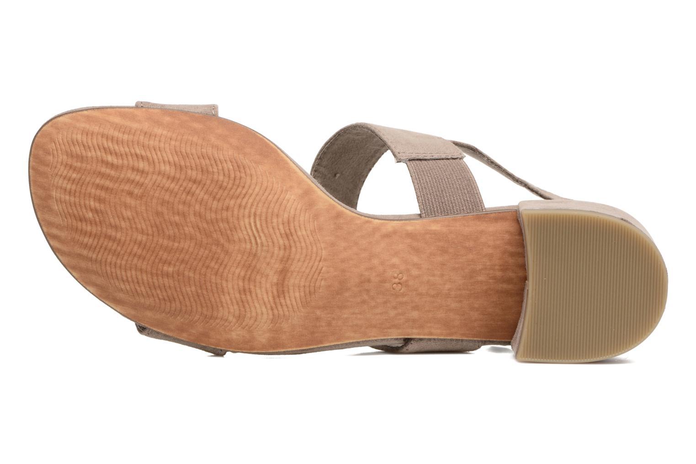 Sandales et nu-pieds Marco Tozzi Nyla Marron vue haut