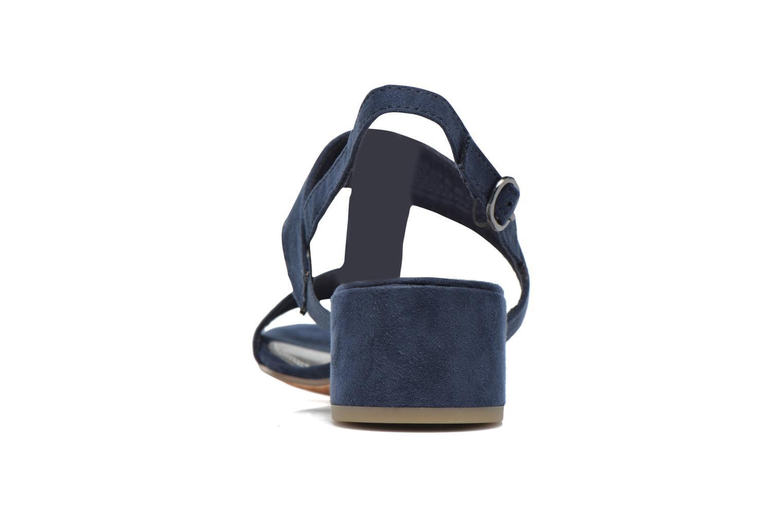 Sandales et nu-pieds Marco Tozzi Nyla Bleu vue droite