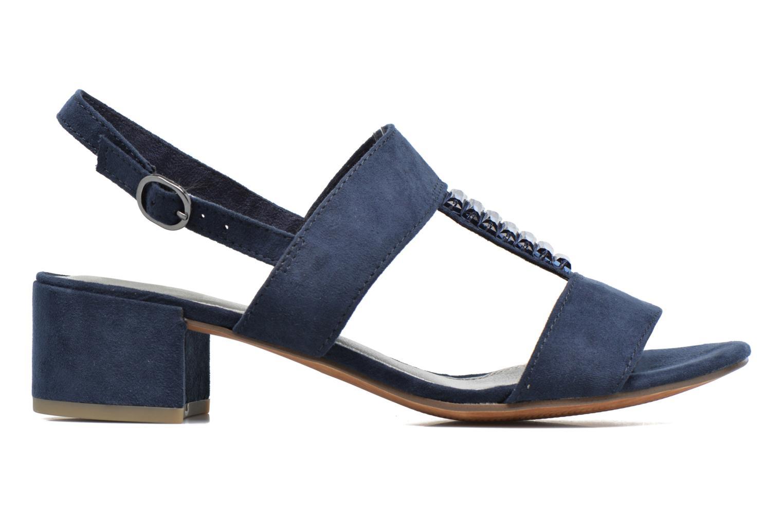 Sandales et nu-pieds Marco Tozzi Nyla Bleu vue derrière