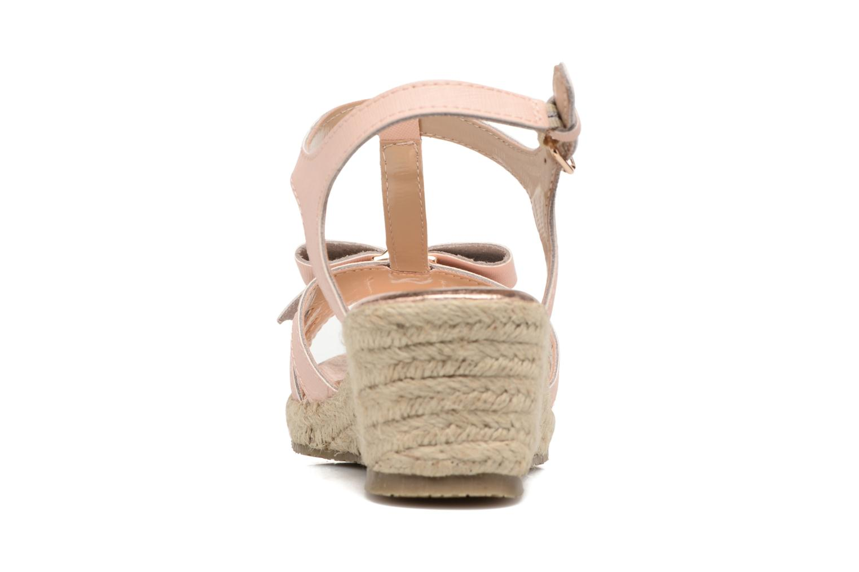 Sandales et nu-pieds Michael Michael Kors Zia-Cate Alexa Rose vue droite