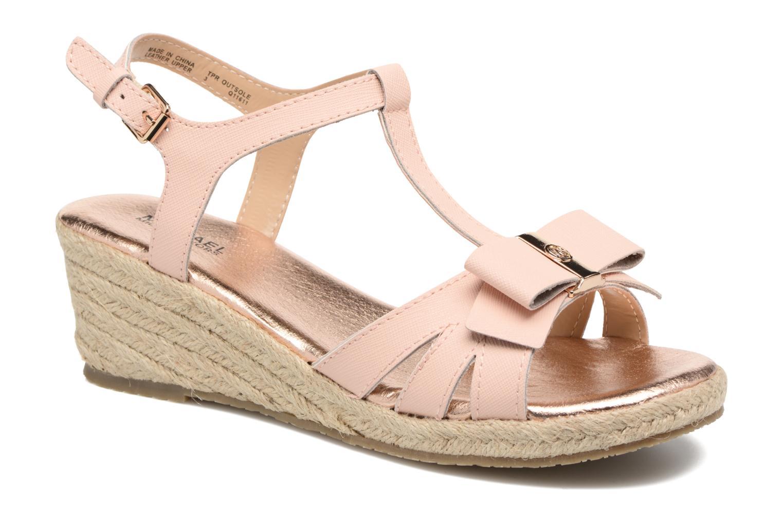 Sandales et nu-pieds Michael Michael Kors Zia-Cate Alexa Rose vue détail/paire