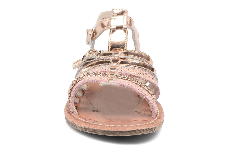 Sandales et nu-pieds Achile Bangkok Rose vue portées chaussures