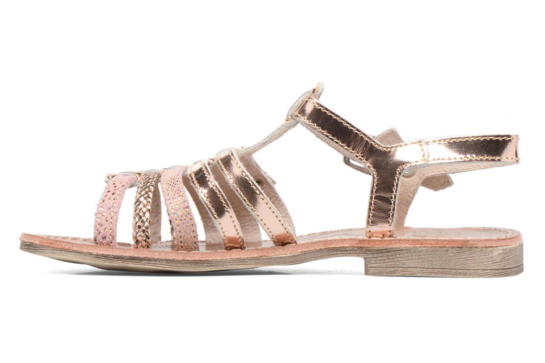 Sandales et nu-pieds Achile Bangkok Rose vue face