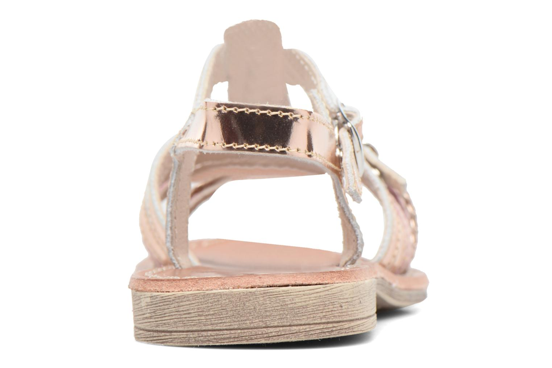 Sandales et nu-pieds Achile Bangkok Rose vue droite