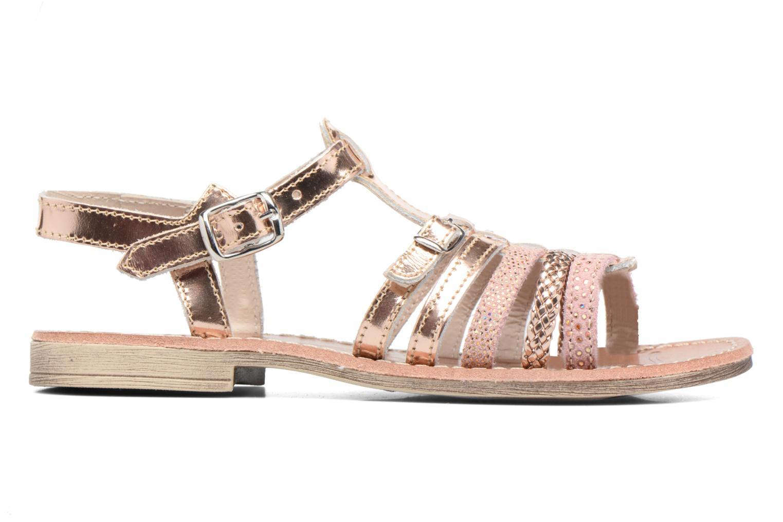Sandales et nu-pieds Achile Bangkok Rose vue derrière