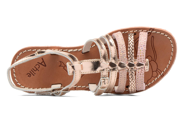 Sandales et nu-pieds Achile Bangkok Rose vue gauche