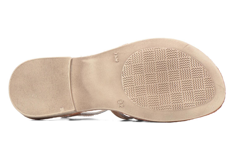 Sandales et nu-pieds Achile Bangkok Rose vue haut