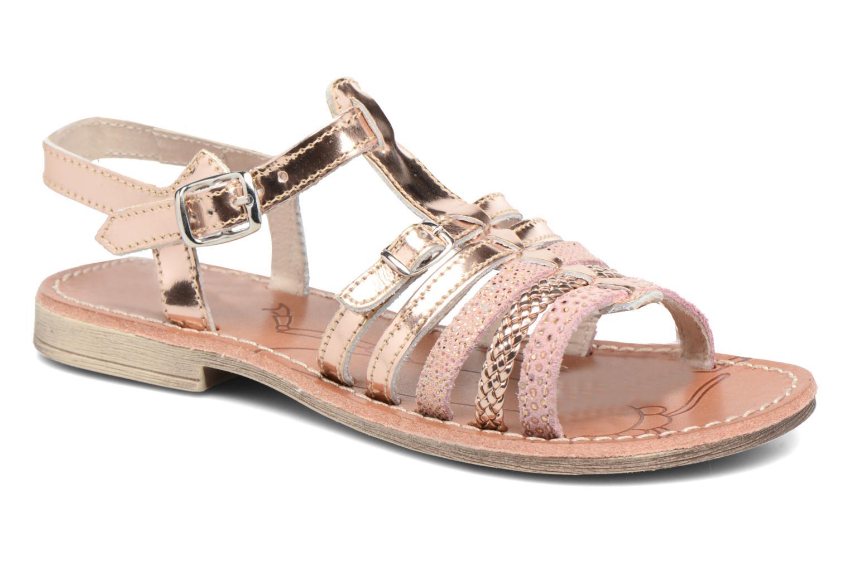 Sandales et nu-pieds Achile Bangkok Rose vue détail/paire
