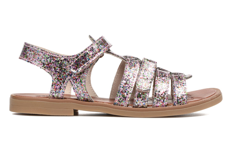 Sandales et nu-pieds Achile Katagami Multicolore vue derrière