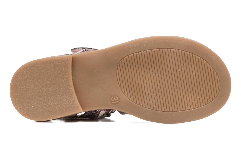 Sandales et nu-pieds Achile Katagami Multicolore vue haut