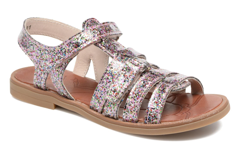 Sandales et nu-pieds Achile Katagami Multicolore vue détail/paire