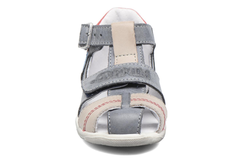 Sandales et nu-pieds GBB Patient Gris vue portées chaussures
