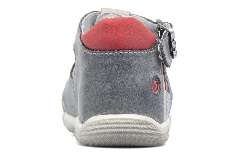 Sandales et nu-pieds GBB Patient Gris vue droite