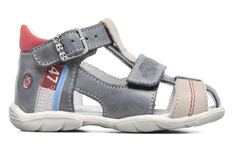 Sandales et nu-pieds GBB Patient Gris vue derrière