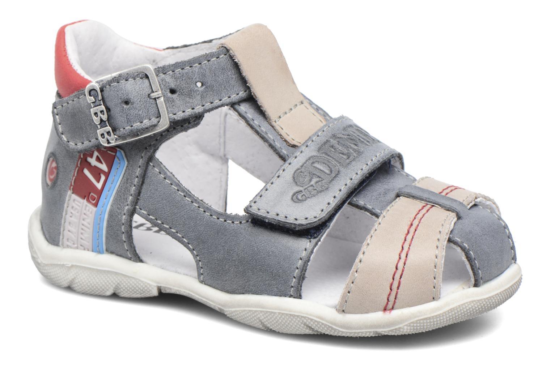 Sandales et nu-pieds GBB Patient Gris vue détail/paire