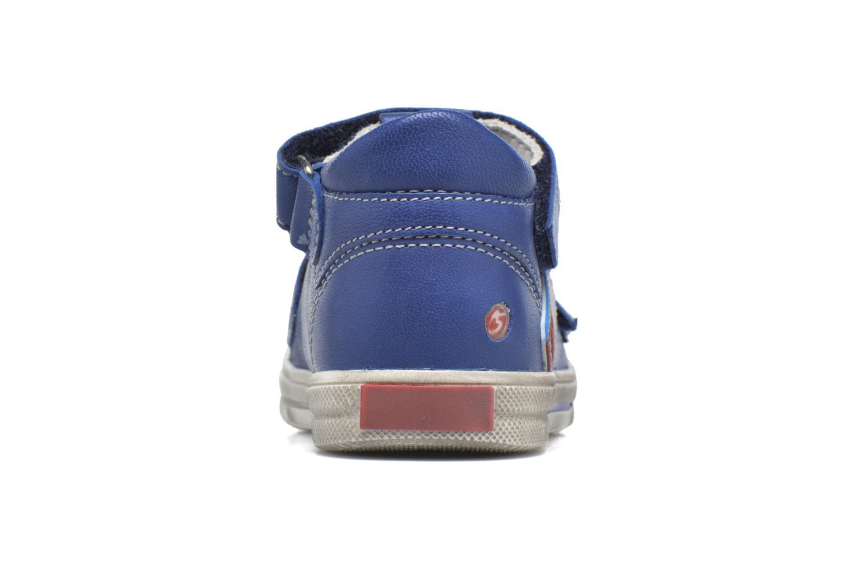 Bottines et boots GBB Pepino Bleu vue droite