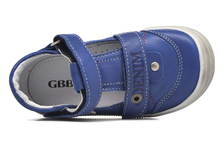 Bottines et boots GBB Pepino Bleu vue gauche