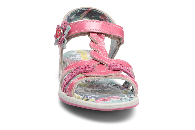 Sandales et nu-pieds Catimini Pekans Rose vue portées chaussures