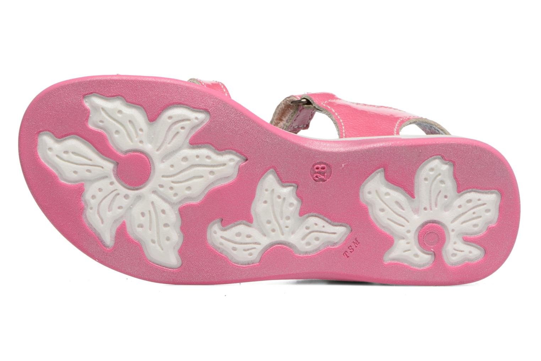Sandales et nu-pieds Catimini Pekans Rose vue haut
