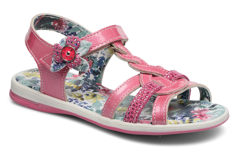 Sandales et nu-pieds Catimini Pekans Rose vue détail/paire