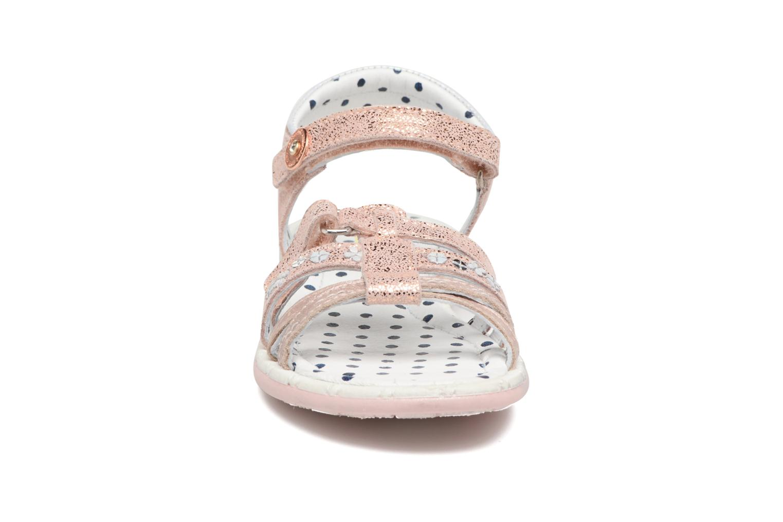 Sandales et nu-pieds Catimini Pastel Rose vue portées chaussures
