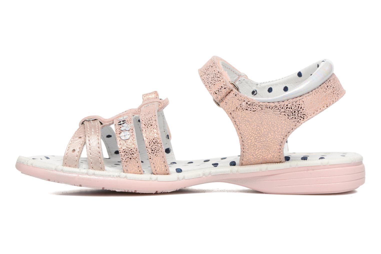Sandales et nu-pieds Catimini Pastel Rose vue face